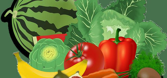 des fruits et légumes pour chien
