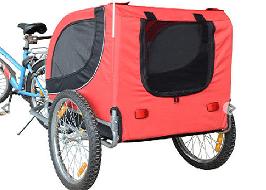 remorque de vélo pour chien