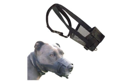 Muselière pour chien réglable en nylon