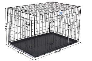 cage en metal pour chien