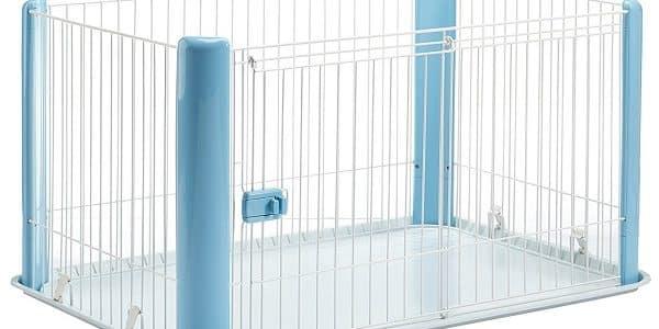 un enclos interieur pour chien