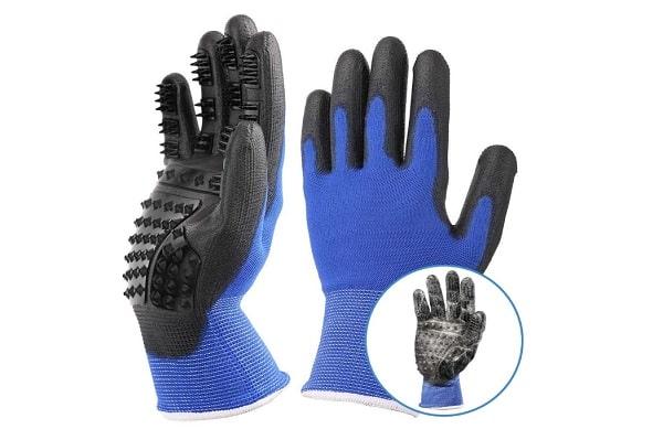 gants de brossage pour chien