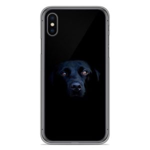 coque chien noir
